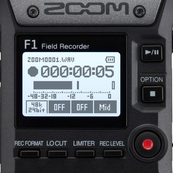Zoom F1-LP Front Panel