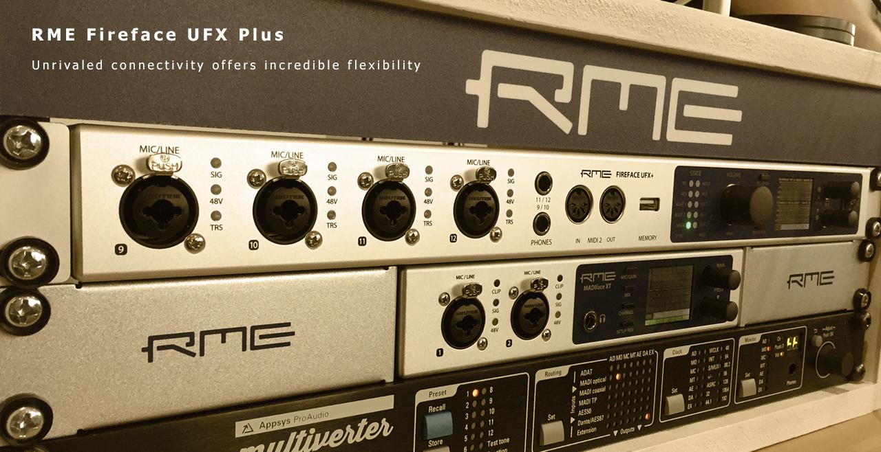 RME Fireface UFX Plus More1