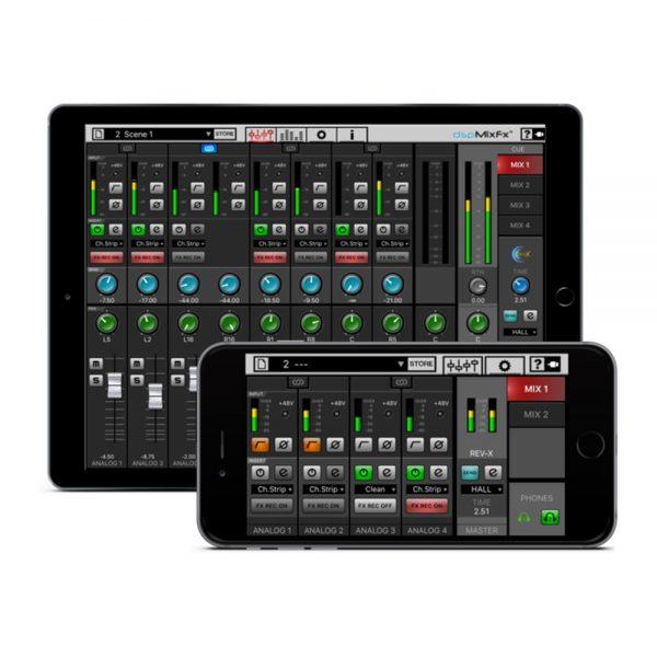 Steinberg UR-RT4 dspMix FX On iPad & iPhone