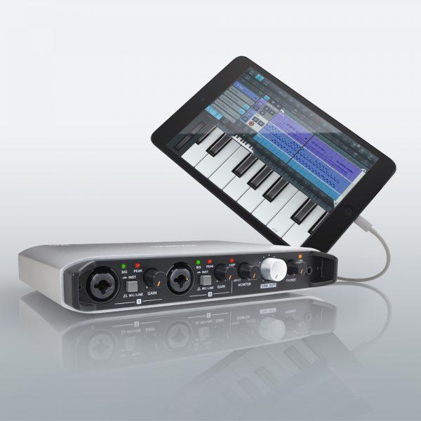 TASCAM IXR With iPad