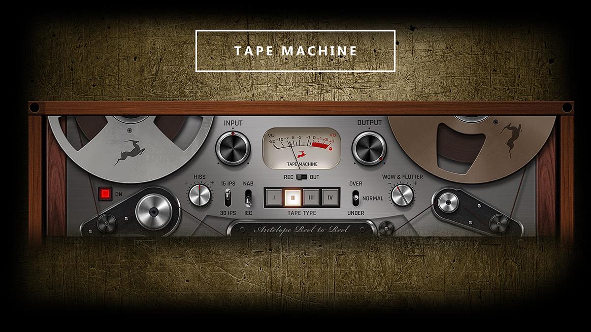 Antelope Audio Tape Machine