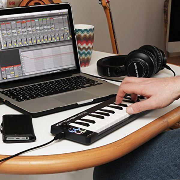 M-Audio Keystation Mini 32 Mk3 In Use