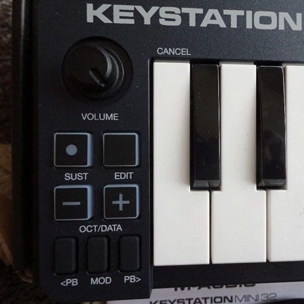 M-Audio Keystation Mini 32 Mk3 Switches