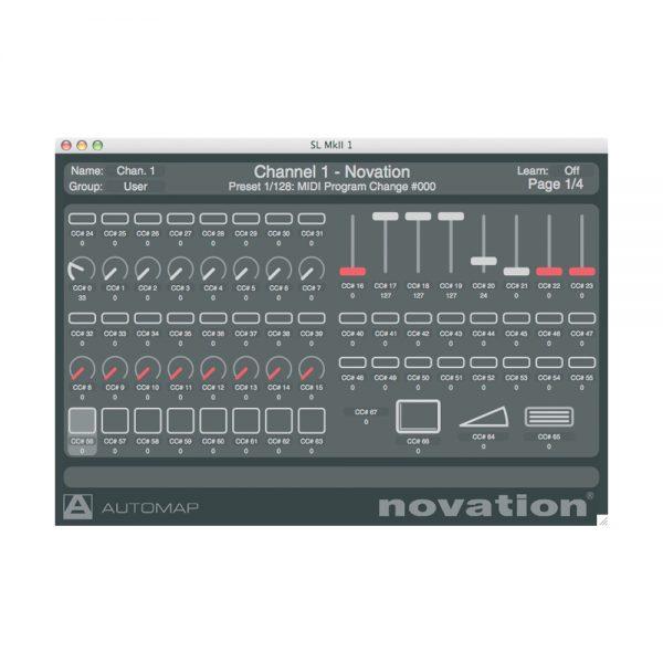 Novation 61 SL MKII Automap