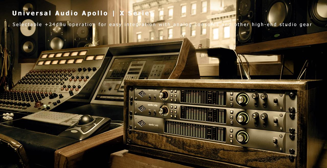 Universal Audio Apollo X Series More1