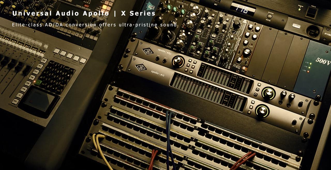 Universal Audio Apollo X Series More