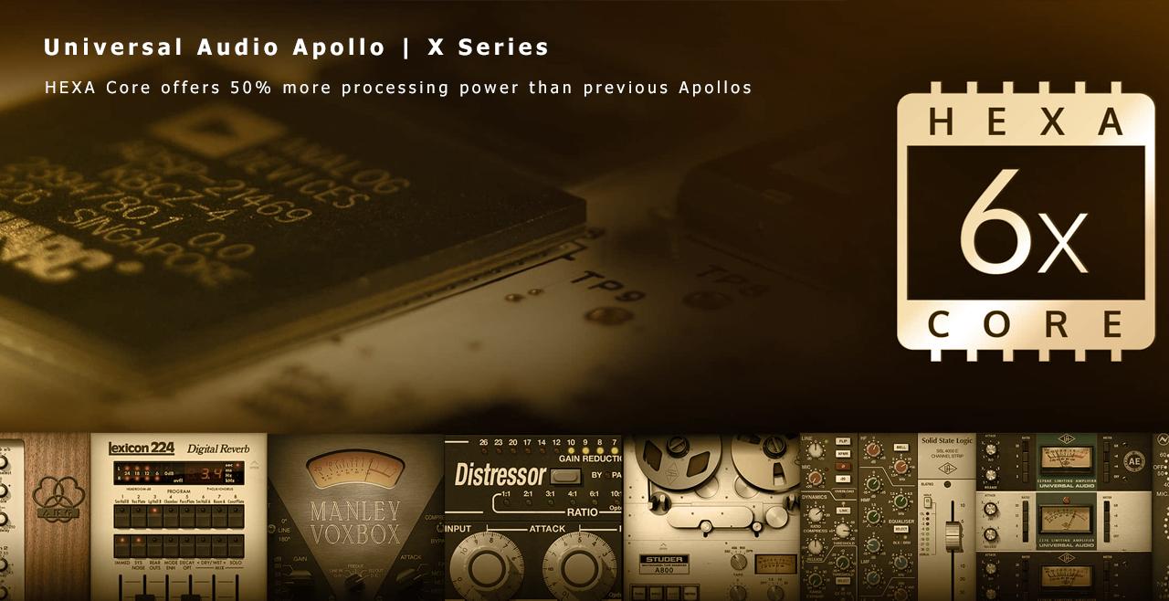 Universal Audio Apollo X Series More2