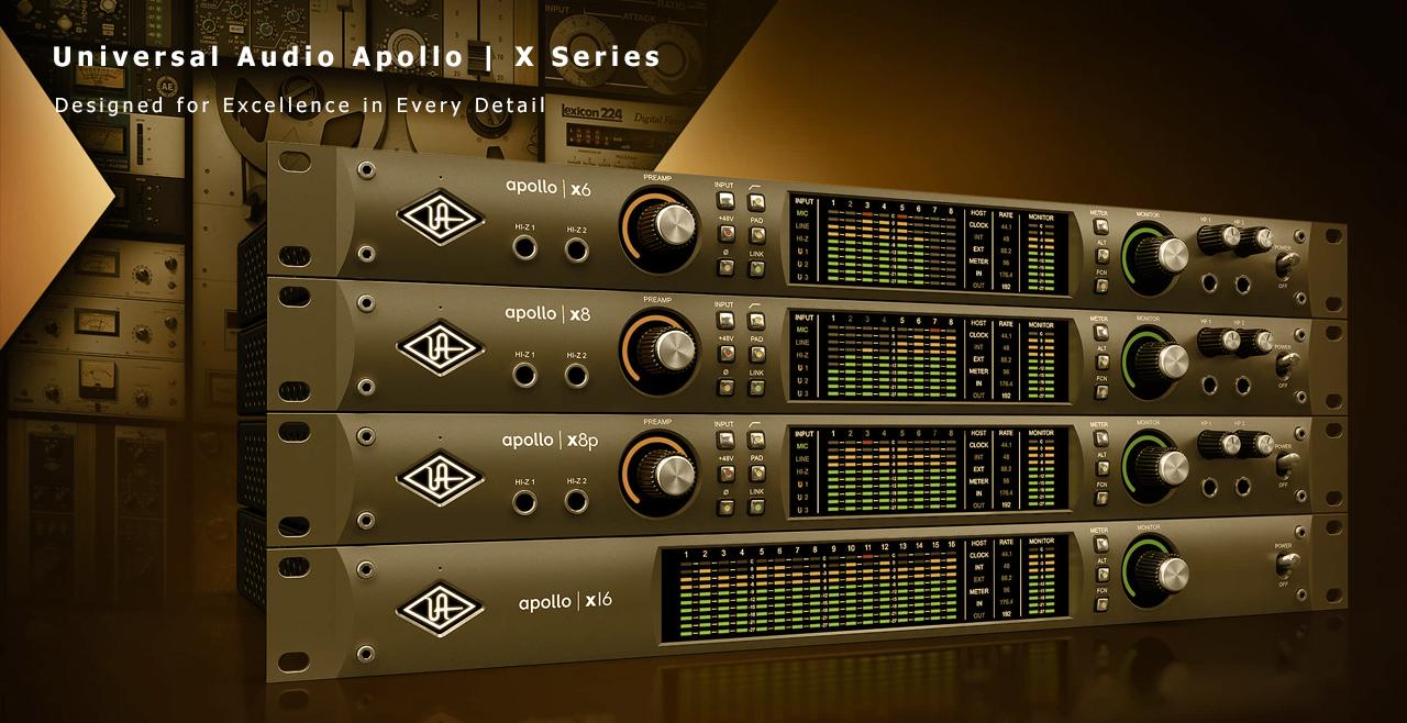 Universal Audio Apollo X Series Content