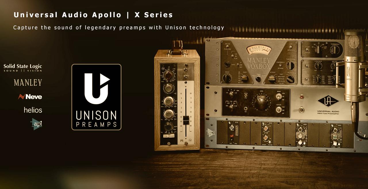 Universal Audio Apollo X Series Unison