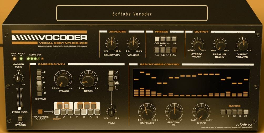 Softube Vocoder-min