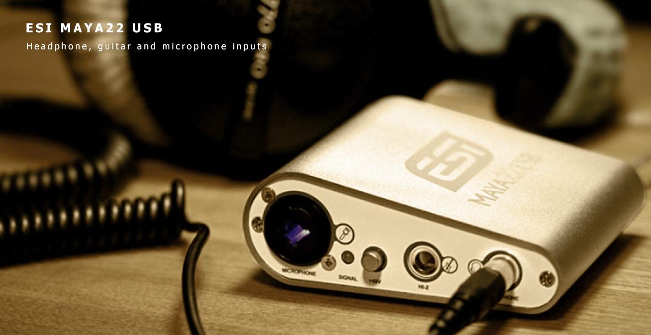 ESI MAYA22 USB Content