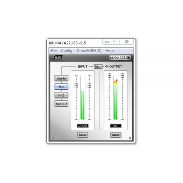 ESI MAYA22 USB Control Panel