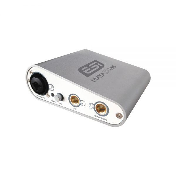ESI MAYA22 USB Front Angle