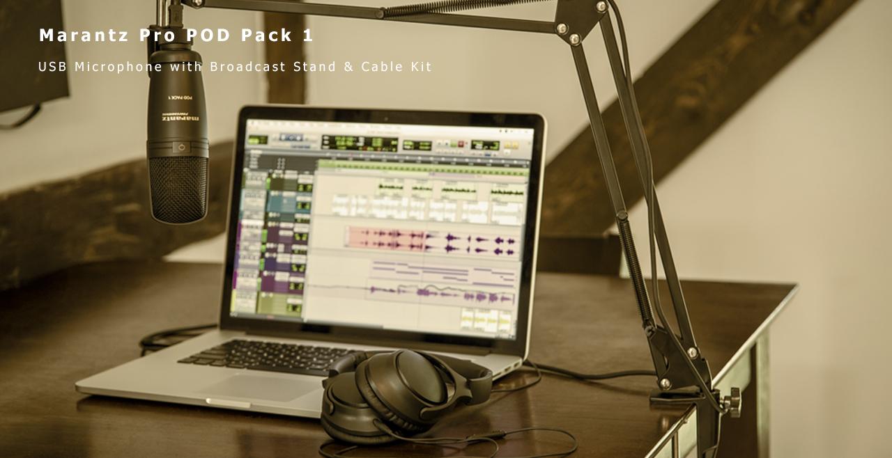 Marantz Pro POD Pack 1 Content