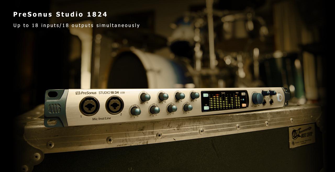 PreSonus Studio 1824 Content