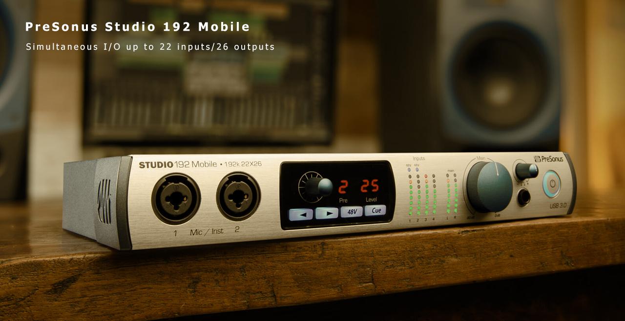 PreSonus Studio 192 Mobile Content