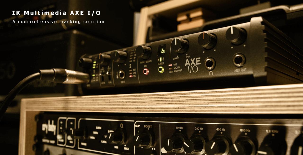 IK Multimedia AXE IO Content More