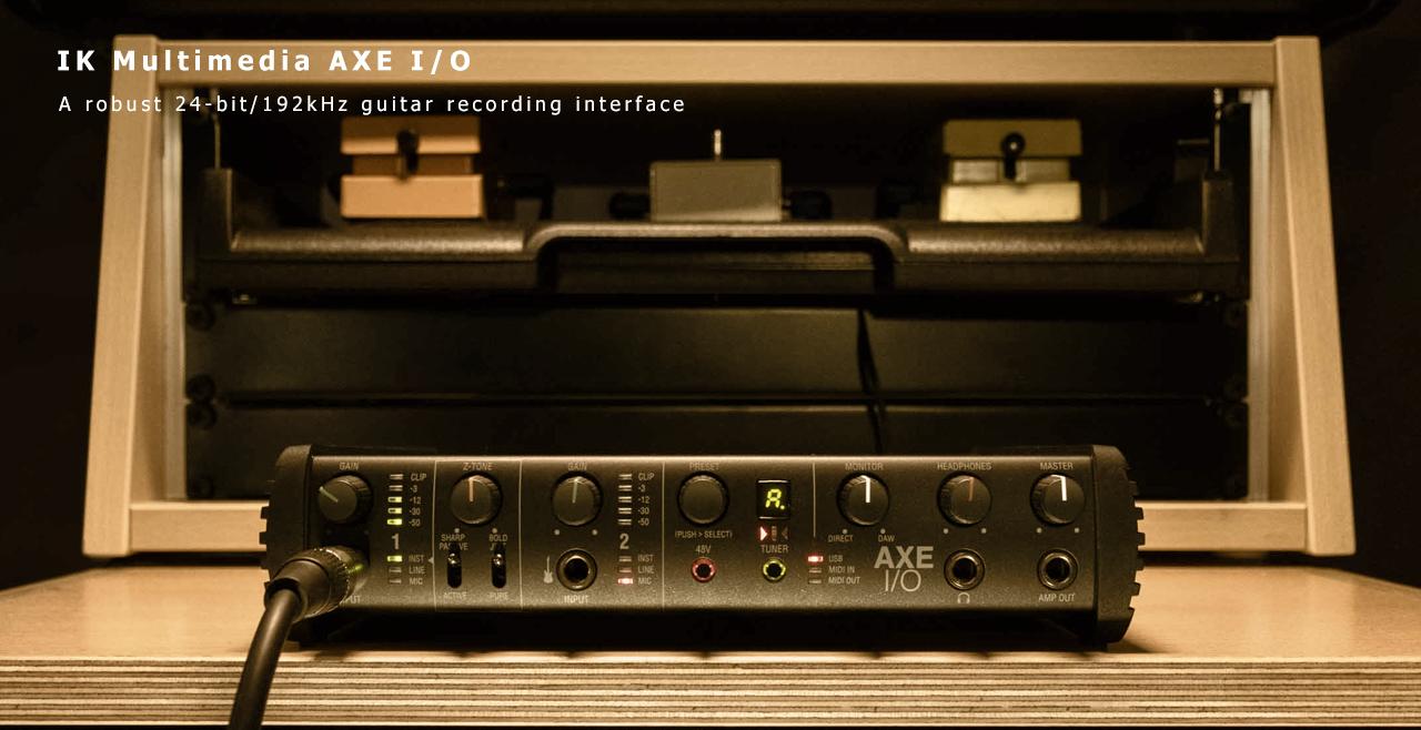 IK Multimedia AXE IO Content