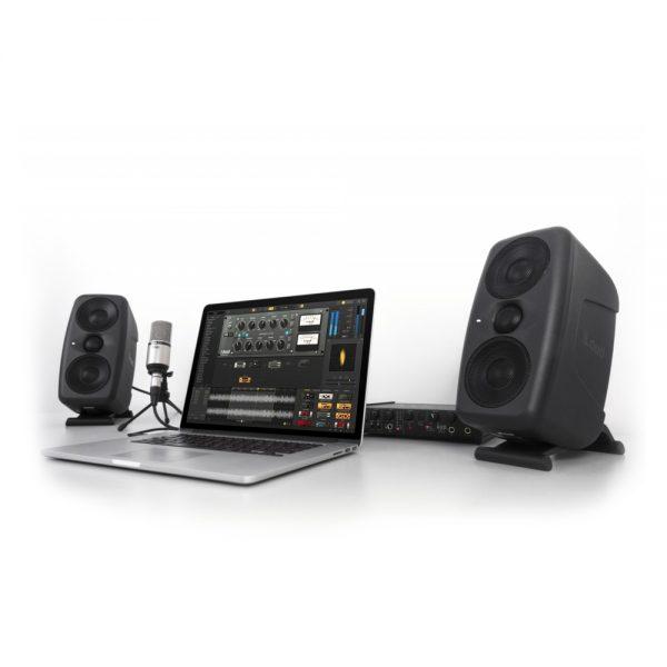 IK Multimedia iLoud MTM Pair In Studio Angle
