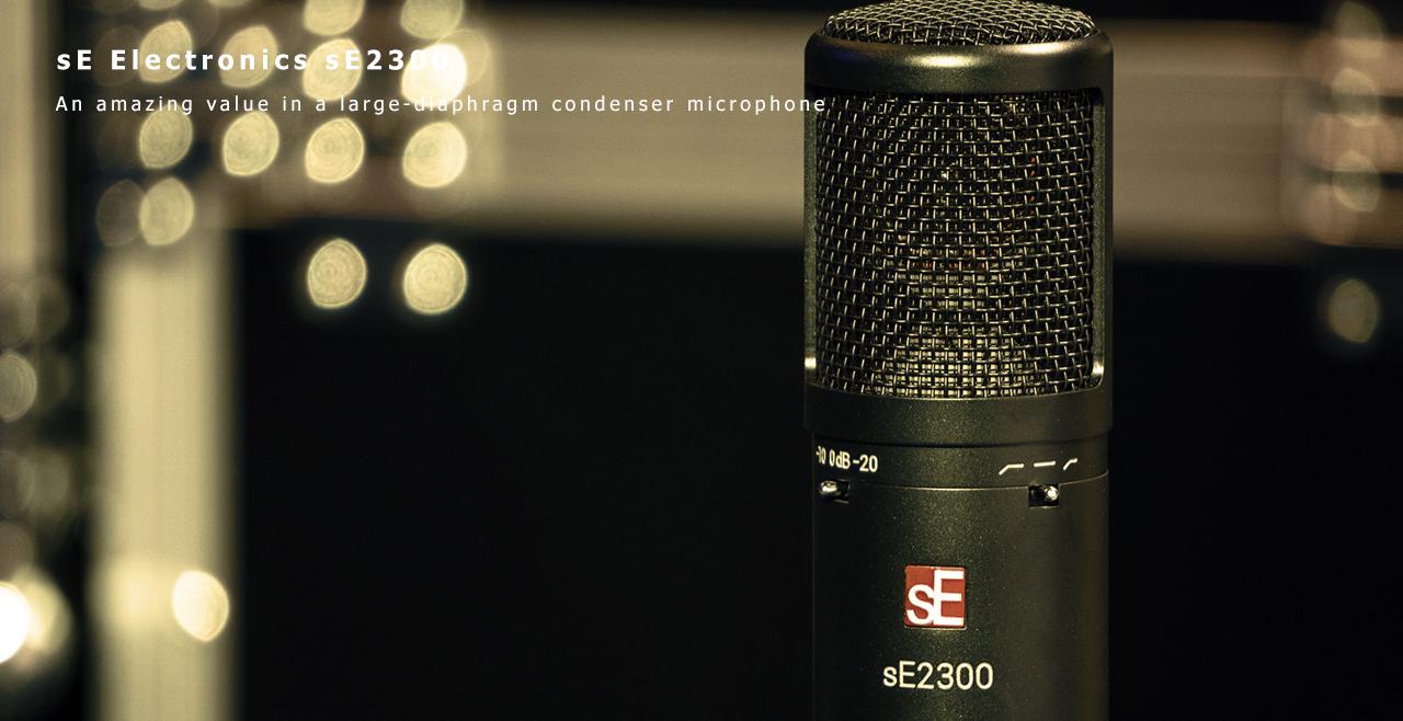sE Electronics sE2300 Content