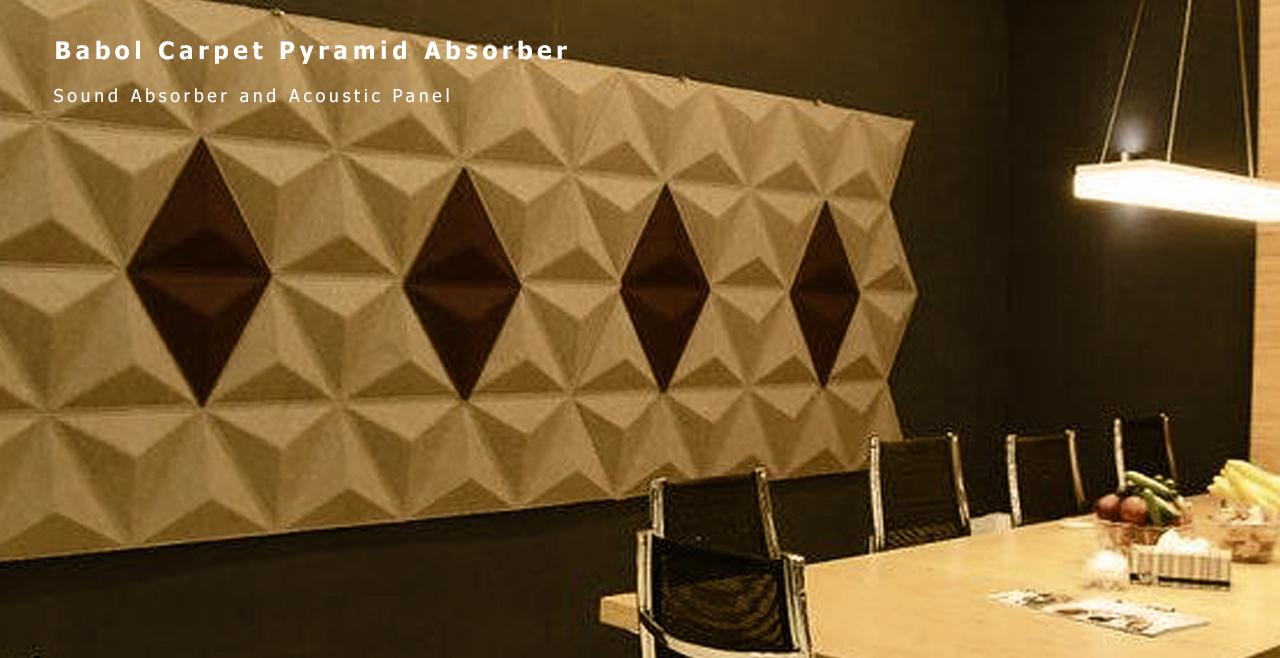 Babol-Carpet-Pyramid Panel 147X236-5mm Content