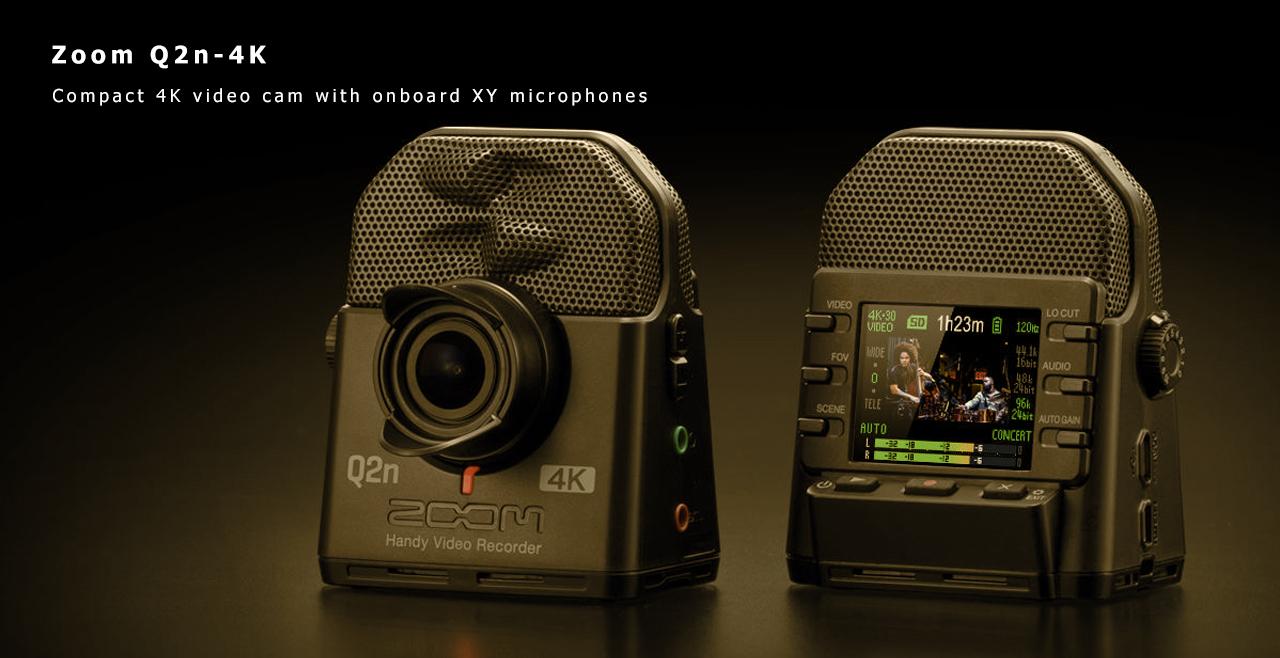 Zoom Q2n-4K Content
