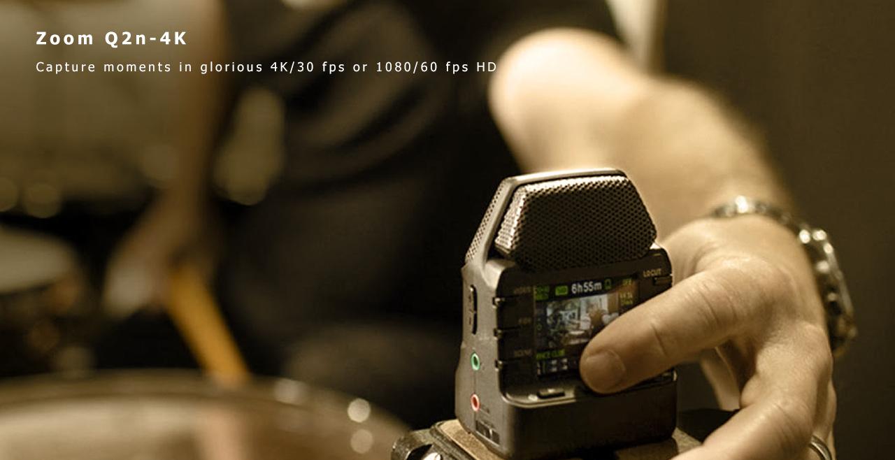 Zoom Q2n-4K More