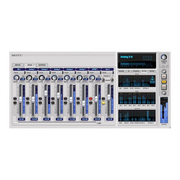 MOTU UltraLite MK3 Hybrid CueMixFx