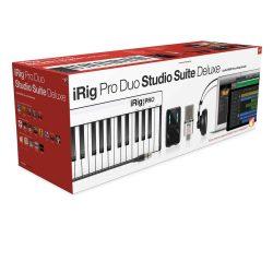iK Multimedia iRig Pro Duo Studio Sauite Deluxe
