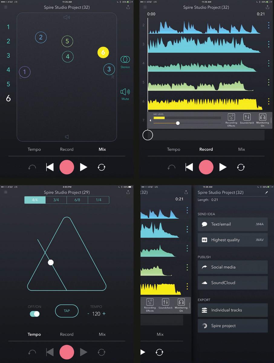 Spire Studio App
