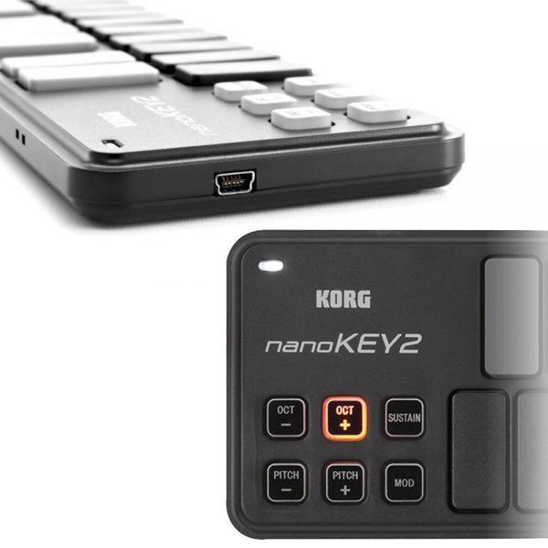 KORG nanoKEY2 Black Switches