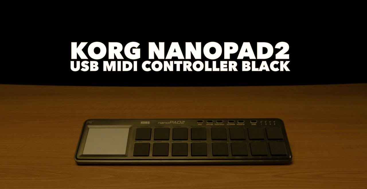 KORG nanoPAD2 Black Content