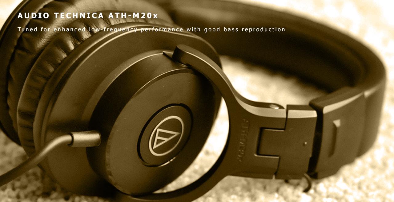 Audio-Technica ATH-M20x Content