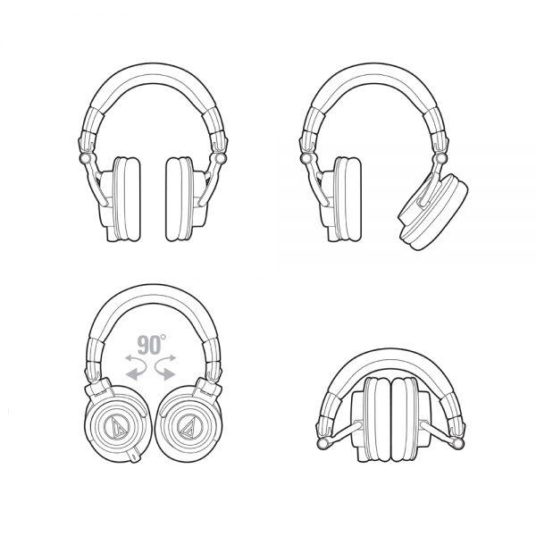Audio-Technica ATH-M50x Schematic