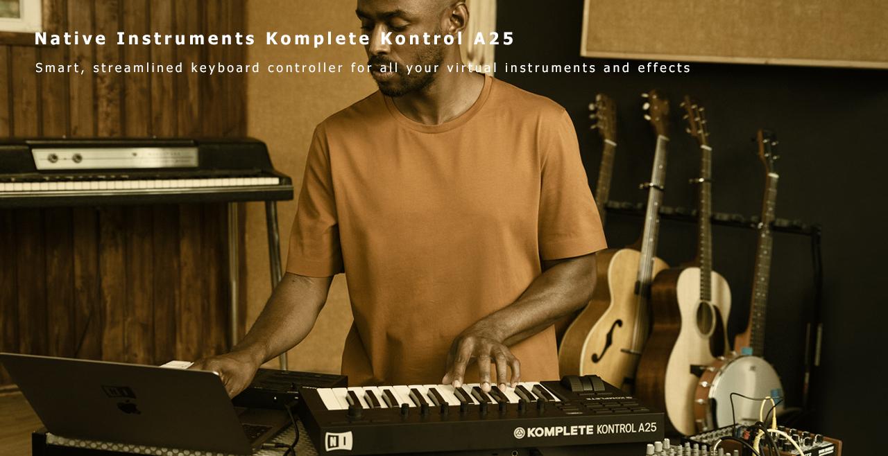 Native Instruments Komplete Kontrol A25 Content