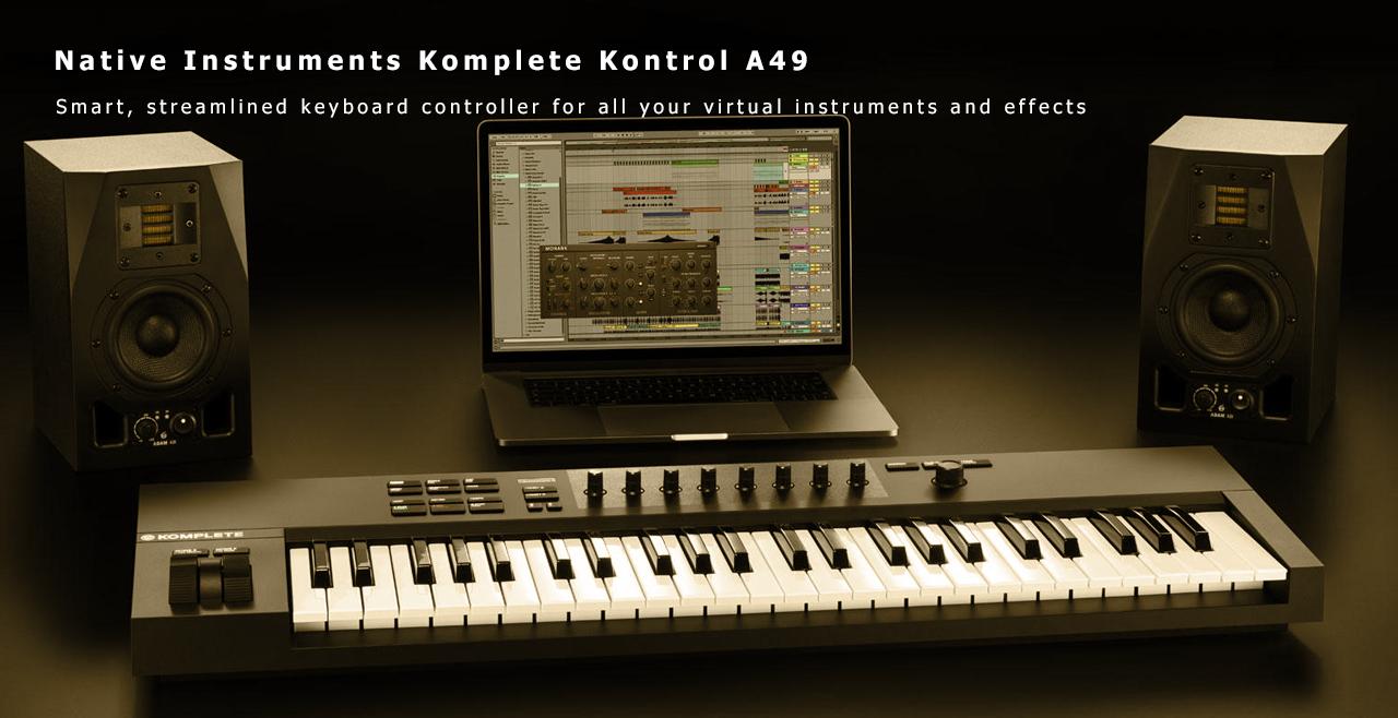 Native Instruments Komplete Kontrol A49 Content
