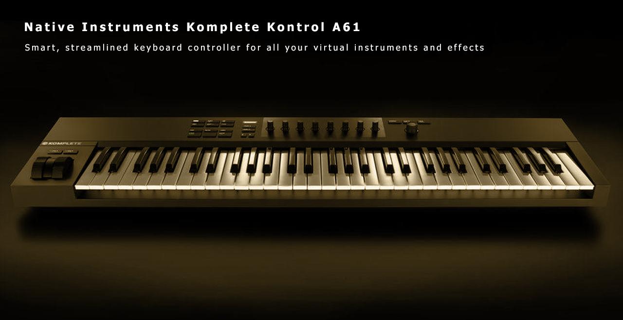 Native Instruments Komplete Kontrol A61 Content