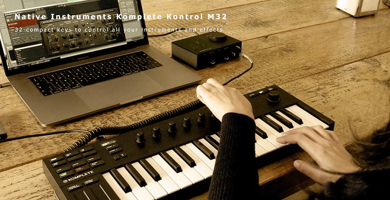 Native Instruments Komplete Kontrol M32 Content