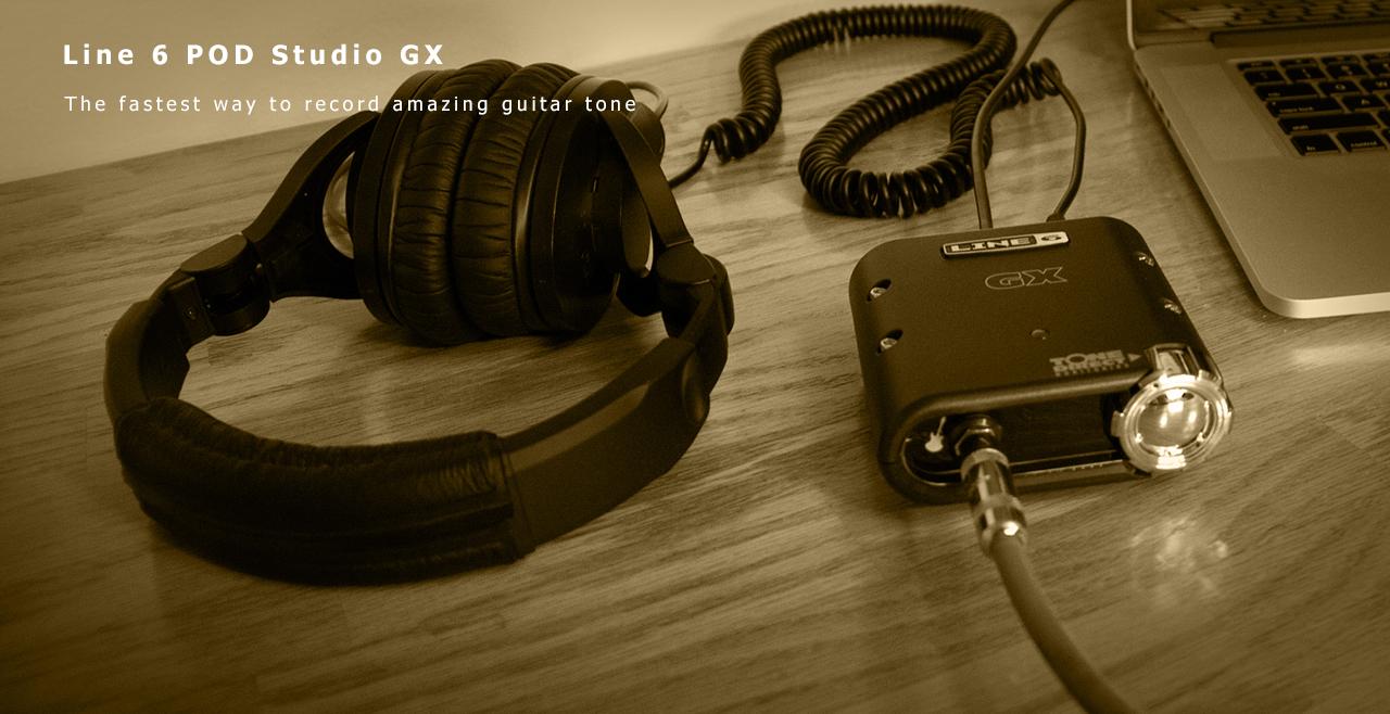Line 6 POD Studio GX Content