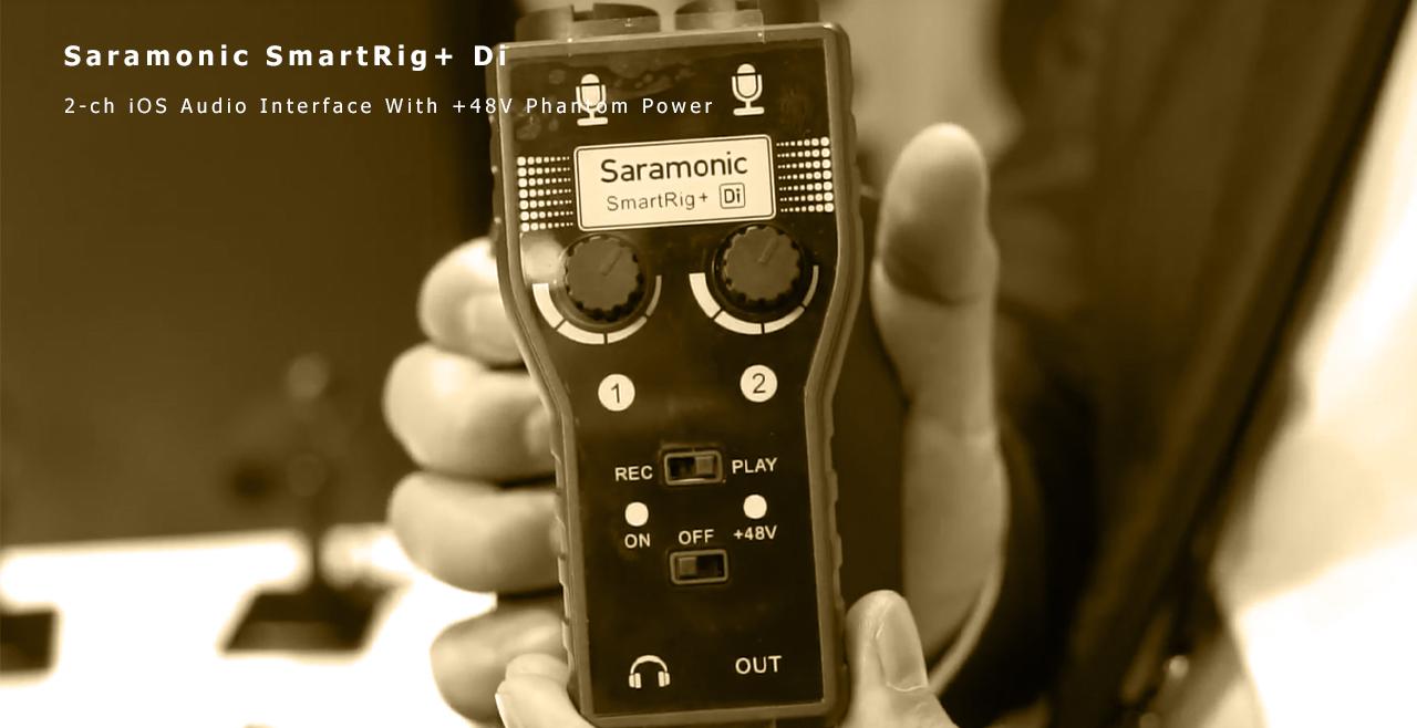 Saramonic smartRig+ Di Content