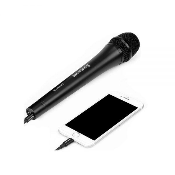 Saramonic SR-HM7 Di With iPhone