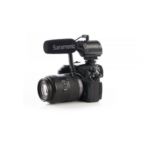 Saramonic SR-PMIC1 On Camera