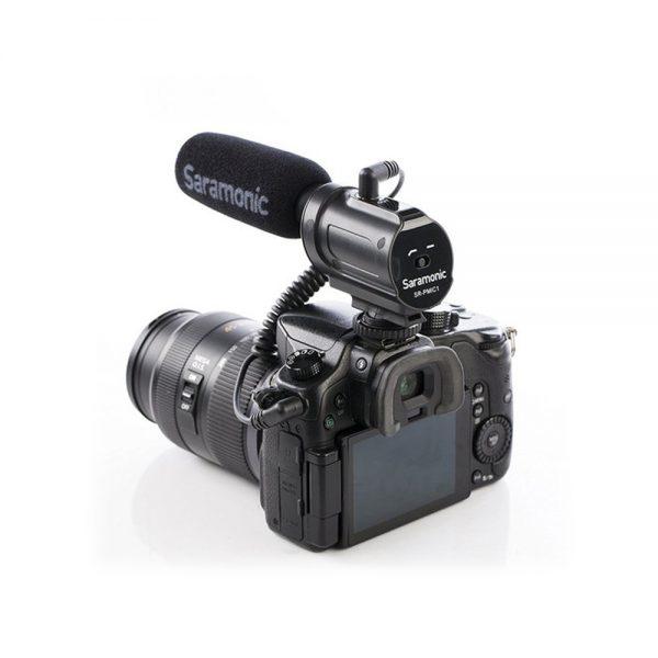 Saramonic SR-PMIC1 On Camera Back