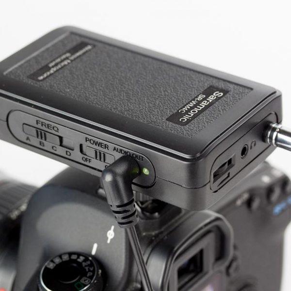 Saramonic SR WM4C On Camera