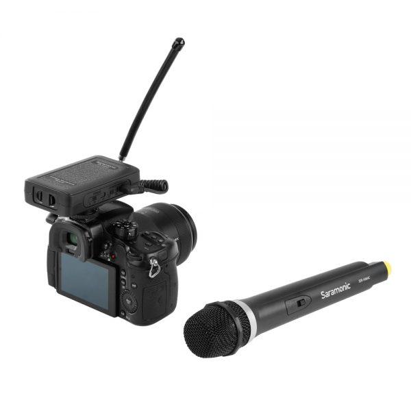 Saramonic SR-WM4CA On Camera