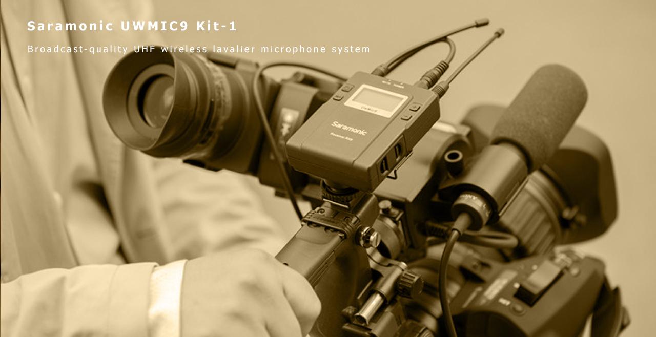 Saramonic UwMic9 Kit-1 Content