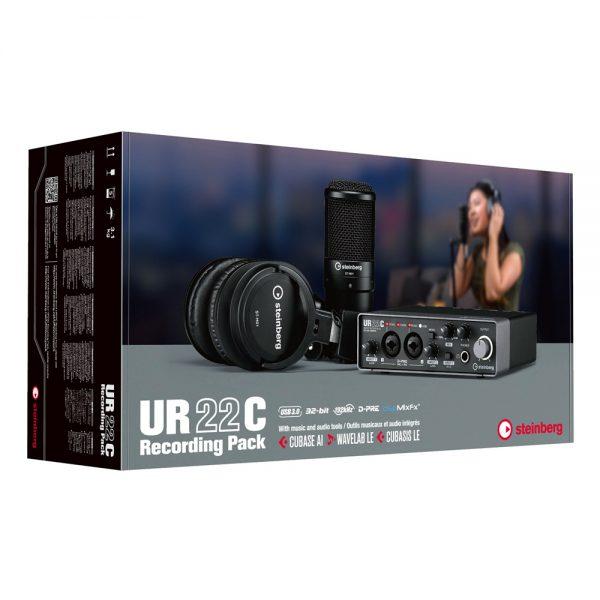 Steinberg UR22C Recording Pack Box