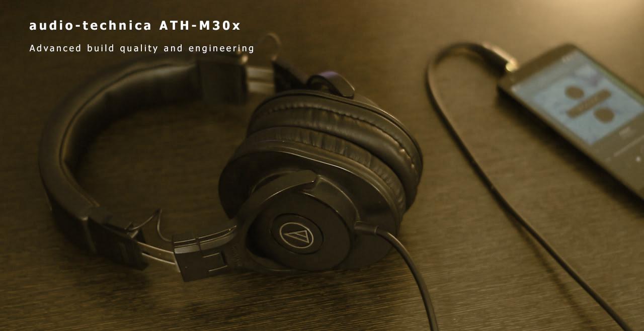 Audio Technica ATH-M30x Content