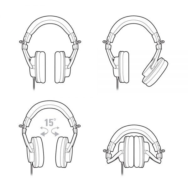 Audio Technica ATH-M30x Schematic