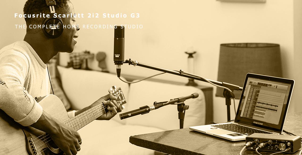 Focusrite Scarlett 2i2 Studio G3 More